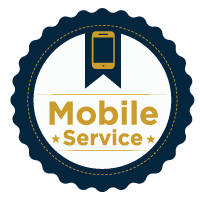 Mobile service badge