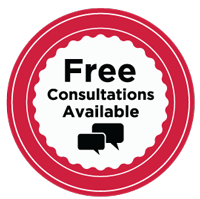 Free consultation badge