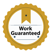 Work guaranteed badge